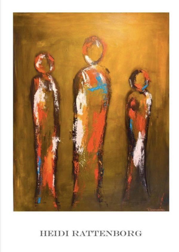 Plakat - together gylden