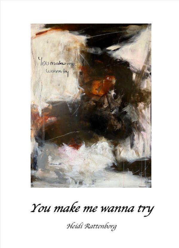 plakat - make me wanna try