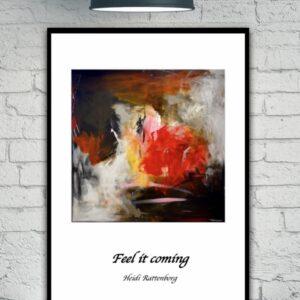 plakat - feel it coming