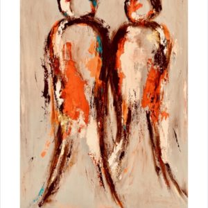 plakat - compassion for you - sandfarvet