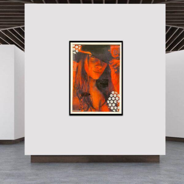 Kunstplakat see eye to eye