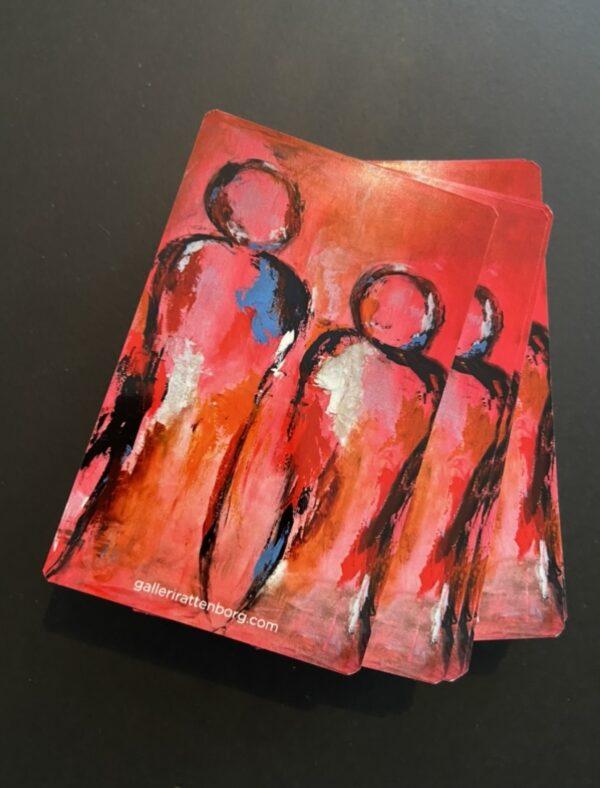 spillekort med kunst