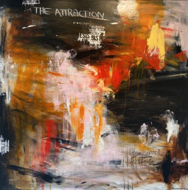 originalt maleri - attraction