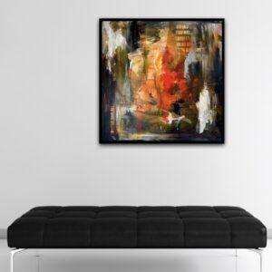 maleri - you need it - sælges uden ramme